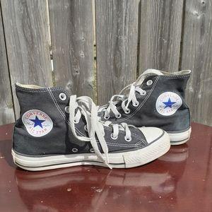 ❤SALE❤ Black Converse High-Top Sneakers